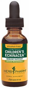 "Herb Pharm Certified Organic Alcohol-free Children""s Echinacea Glycerite For Immune Support -1 Ounce"