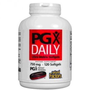 Natural Factors Pgx Daily Ultra Matrix Softgels 750 Mg, 240 Softgels