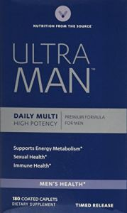 Vitamin World Ultra Man Daily Multi Vitamin, 180 Caplets