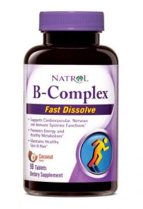 Natrol B-complex Fast Dissolve Tablets,coconut, 90-count
