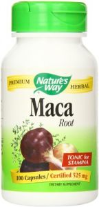"3m Health Supplements - Nature""s Way Maca Root, 525 mg., 100 Capsules"