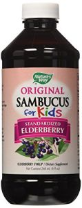"Nature""s Way Sambucus For Kids Bio-certified Elderberry, 8-ounce"