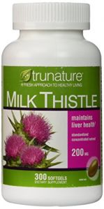 Trunature Milk Thistle - 300 Softgels