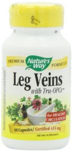 "Nature""s Way Leg Veins, 60 Capsules"