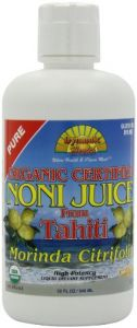 Dynamic Health Noni Juice, Tahitian Morinda Citrifolia, 32 Ounces (pack Of 2)