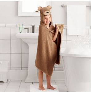 Jumping Beans Hooded Bear Bath Towel