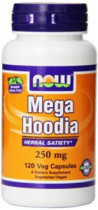 Now Foods Mega Hoodia 250mg, Veg-capsules, 120-count