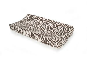 Carters Velour Changing Pad Cover, Zebra