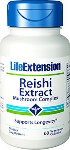 Life Extension Reishi Extract, Mushroom Complex, Vegetarian Capsules, 60 Count