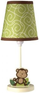 Nojo Little Bedding Jungle Time Lamp And Shade