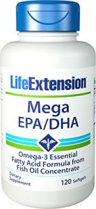 Life Extension Mega Epa/dha 120 Softgels