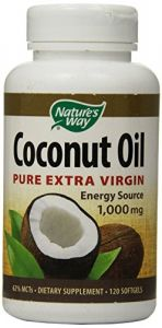 "Nature""s Way Coconut Oil Soft Gels, 120 Count"