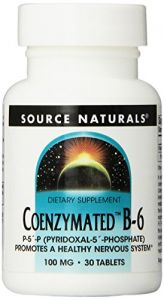 Source Naturals Coenzymated B-6 100mg, 30 Tablets