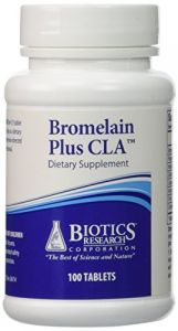 Biotics Research Bromelain Plus Cla 100t