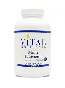 Vital Nutrients Multi-nutrients - Otc Promotes Healthy Immune Function,180 Count