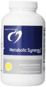 Designs For Health Metabolic Synergy Vegetarian Capsules, 180 Count