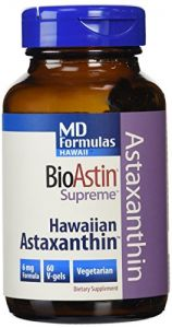 Nutrex Health & Fitness - Nutrex Hawaii MD Formulas BioAstin Supreme 6 mgs., 60-v-gels Bottle