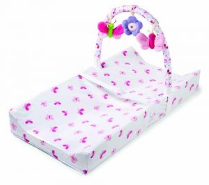 Summer Infant Infant Change Pad With Toybar, Flutter Flower