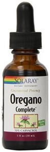 Solaray Oregano Complete Supplement, 68 Mg, 1 Ounce