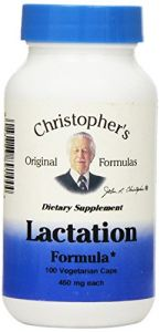 "Dr Christopher""s Lactation Formula, 100 Count"