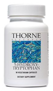 Thorne Research - 5-hydroxytryptophan (5-htp) - 90 Vegetarian Capsules