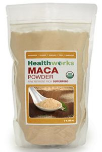 Healthworks Raw Certified Organic Maca Powder 32oz (2lb)