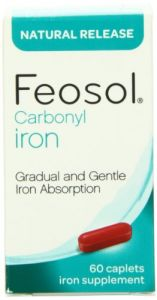 Feosol Natural Release, Iron, 45 Mg, Vitamins, 60 Count