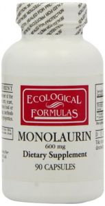 Cardiovascular Research / Ecological Formulas - Monolaurin 600mg - 90 Capsules