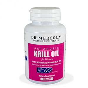 Mercola - Krill Oil For Women - 90 Lipcaps Capsules