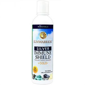 Sunwarrior Liquid Silver Immune Shield, 8 Fl Oz.