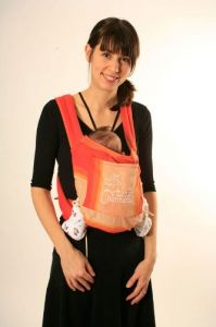 Chimparoo Mei Tai Baby Carrier -- One Size Sol