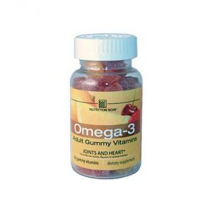 Nutrition Now Omega 3 Adult Gummy Vitamin 60 Chew