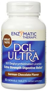 Enzymatic Therapy Dgl Ultra Extra-strength Deglycyrrhizinated Licorice German Chocolate - 90 Ct