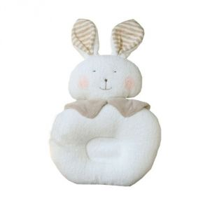 Sleeping Pillow Cute Rabbit Style1pcs_100% Organic Cotton Baby Prevent Flat Head