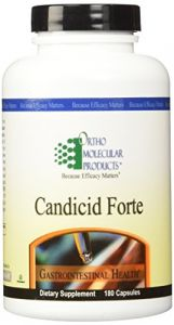 Ortho Molecular Products, Candicid Forte 180 Capsules