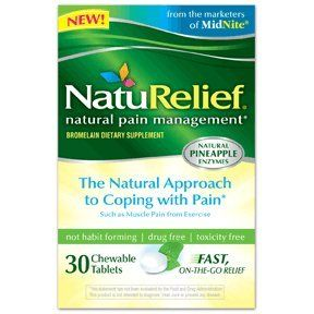 Naturelief Pain Management Supplement Chewable Tablets, 30 Ct (pack Of 2) (pack Of 2)