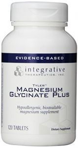 Integrative Therapeutics Magnesium Glycinate Plus, 120 Tablets