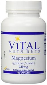 Magnesium Glycinate/malate 120 Mg 100 Capsules
