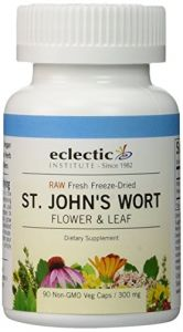 "St. John""s Wort 300mg Freeze-dried Eclectic Institute 90 Vcaps"
