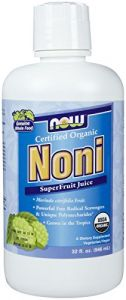 Now Foods Organic Noni Juice, 32 Ounce.