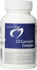 Designs For Health C3 Curcumin Complex Vegetarian Capsules, 60 Count