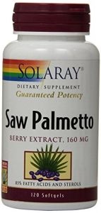 Solaray Saw Palmetto Berry Extract, 160 Mg, 120 Count