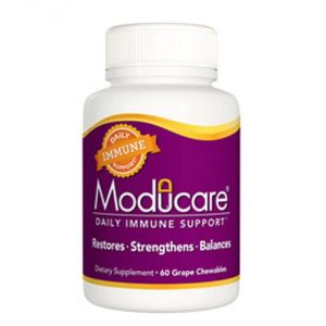 Moducare Immune System Support Multi-vitamins, Grape, 120 Count