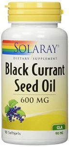 Solaray - Black Currant Seed Oil, 600 Mg, 90 Softgels