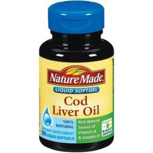 Nature Made Cod Liver Oil -- 100 Liquid Capsules