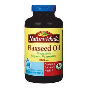 Nature Made Organic Flaxseed Oil 1,000 Mg - 225 Softgels