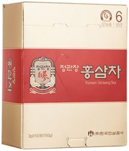 Cheong Kwanjang By Korea Ginseng Corporation Korean Red Ginseng Tea 3G 50 Packets