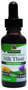 "Nature""s Answer Alcohol-free Milk Thistle Seed, 1-fluid Ounce"