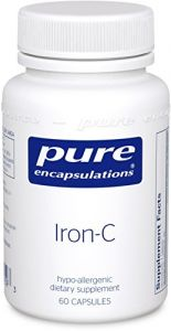 Pure Encapsulations - Iron-c, 60 Capsules