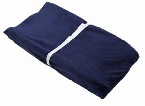 Nautica Zachary Embossed Navy Changing Table Cover